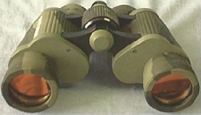 Day/Night Vision Binoculars: Front View
