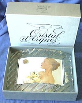 Lead Crystal Photo Frame with Gift Box