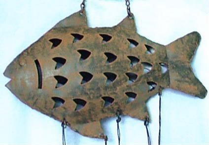 Fish Chime. Close Up