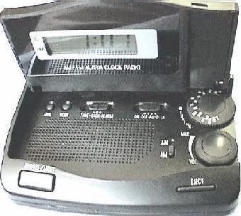 Travel Radio Clock