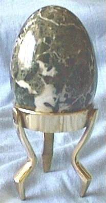 Decorative Egg and Base