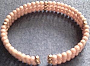 Pink Coral Bracelet, Inside View