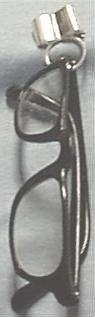 Pin & Eyeglasses