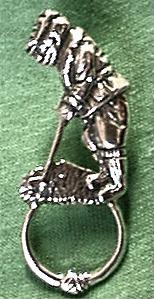 Golfer Pin