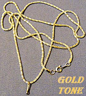 Gold Finish Loupe Chain