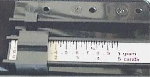 Twin Beam Scale Display