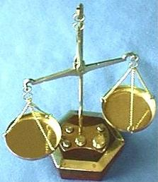 Decorative Balance Scale