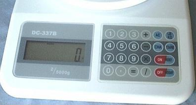 Digital Scale Display and Keypad
