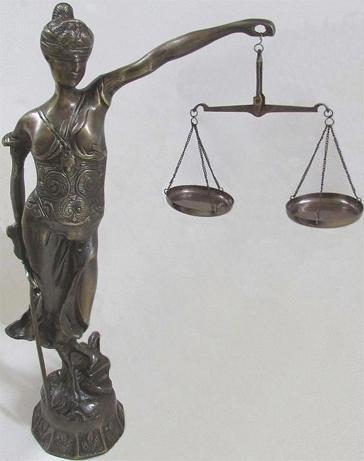 Lady Justice Bronze Statue