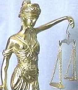 Brass Lady Justice, Front Details