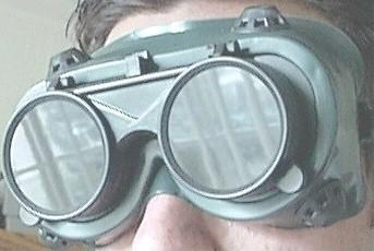 Welding Goggles Setting