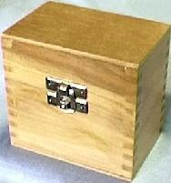 Gold Tester Wood Box